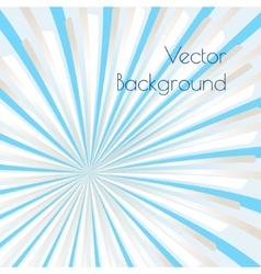 Warm rays vector