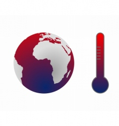 Climate change global warming vector