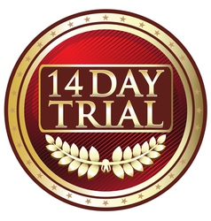 Fourteen day trial label vector