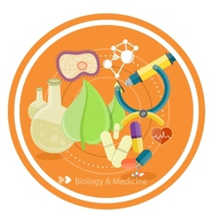 Biology and medicine vector