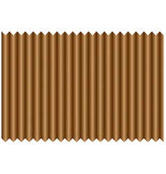 Folded paper vector