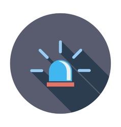 Police single icon vector