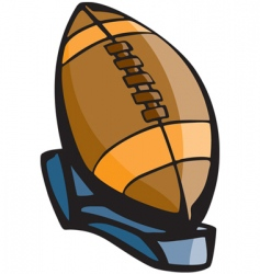 Football icon vector