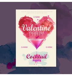 Valentine disco poster valentine background vector