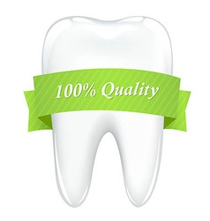 Tooth with tape vector