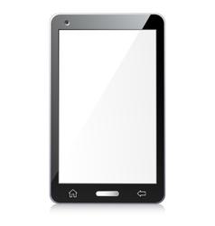New black smartphone vector