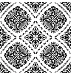 Baroque pattern vector