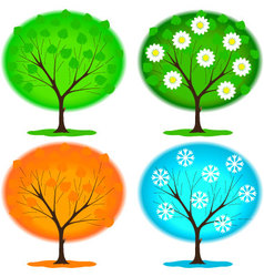 Icon seasons vector