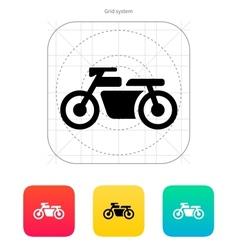 Motorbike icon vector