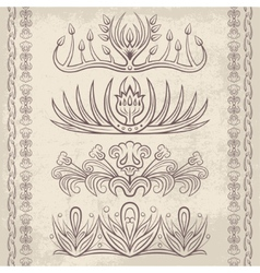 Decor elements6 vector