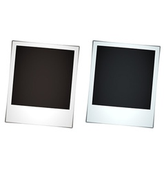Instant photos vector