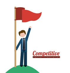 Competition design vector