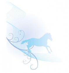 Horse spirit vector