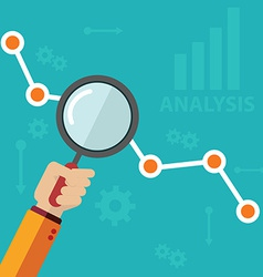 Analytics icons vector