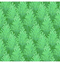 Green fir wood seamless vector