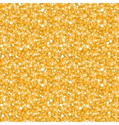 Golden shiny glitter texture seamless pattern vector