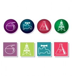 Iconset industry vector