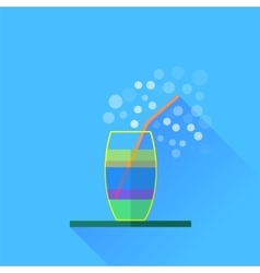 Fresh cocktail vector