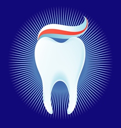 Healthy tooth vector