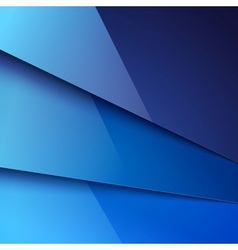Abstract background with blue metal layers vector