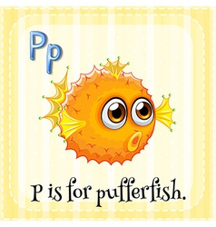 Letter p vector