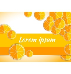 Orange citrus backgrounds fruits vector