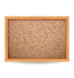 Cork board vector