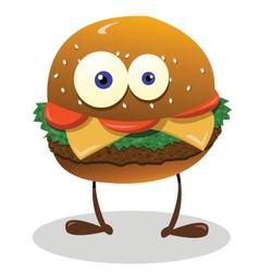 Funny sandwich vector