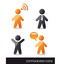 Communication sign vector