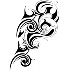 Tribal graphics vector