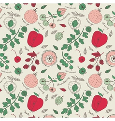 Fruit wallpaper background vector