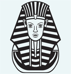 Portrait of pharaoh vector