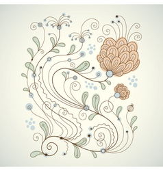 Beauty floral vector