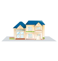 Domestic house vector