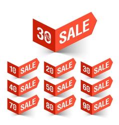 Sale percent sign vector