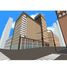 Urban area vector