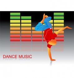Lets dance vector