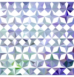 Colorful abstract geometric blue pattern vector