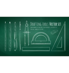 Drafting tools vector