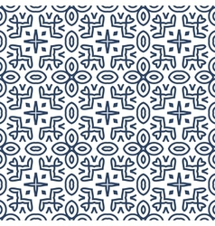 Seamless retro pattern background vector