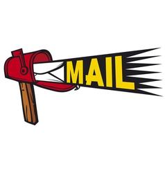 Post box mailbox icon vector