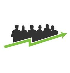 Business success green vector