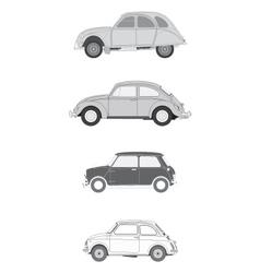 Classics european cars vector