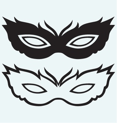 Masks for masquerade costumes vector