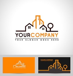 Realestate outline vector
