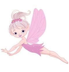 Flying fairy vector