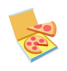 Icon pizza vector