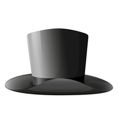 A gray hat vector