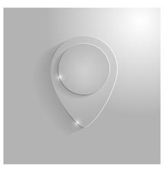 Icon pointer map vector