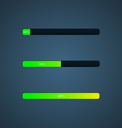 Progress loading bar vector